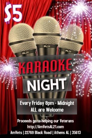 Flyer - Karaoke 3