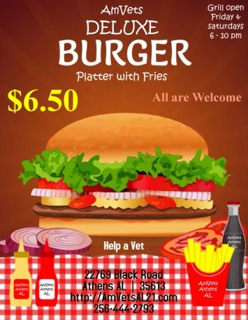 Flyer - Burger $650